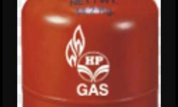 Hp Gas red Colour Home use