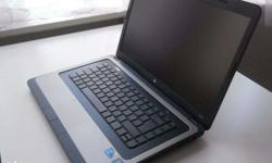 hp i3 4gpram 320gp hdd dvd wifi webcam all option good