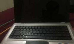 Hp i7 touch screen laptop ,silver matel body ,500 gb