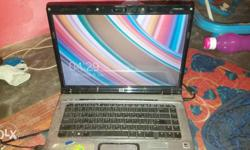 Black And Gray Hp Laptop ...New 500gb hard disk 1 year