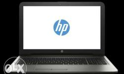 hp laptop core i3,2GB graphics, 4GB ram 5 months used