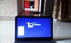 1 year used hp laptop 500 gb hard disk 4 gb ram want to
