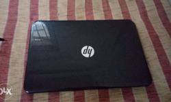 hp laptop with hp laptop bag, 4th generation