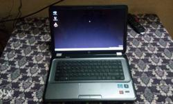 HP Pavilion g series one year old laptop very less