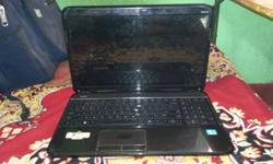 hp PAVILLION G6 laptop 2gb ram 500gb hardisk screen