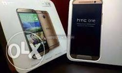 Htc one m8 gold 16 gb cell phone hai imported naya box