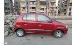 good condition hyundai santro xing red colour Vehicle