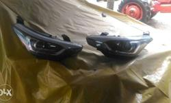i20 active new headlight ( 2 ) left side and right side