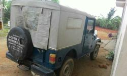 Model 1996 Mahindra Jeep MM540XD 3rd owner Km150000 FC