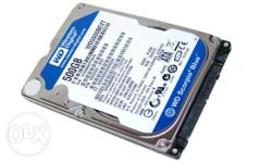 I Have A Hard Disk Of 500 Gb {western Digital] Under