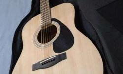 I have brand new yamaha F310 acoustic guitar with