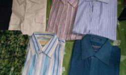 I have total 18 shirts..Each Rs 100. All are in good