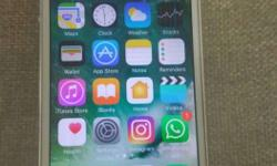 I phone5/16GB Silver colour good condition.. Neat
