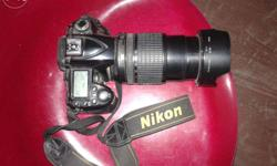 Nikon camera D90 With Original Battery Charger, Battery