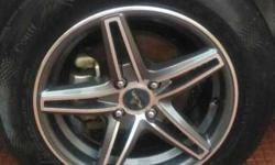 I want sell my allows with tyre 15 inches exchange i20