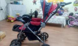 Stroller is Well maintained and good condition.