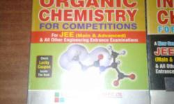 i want to sell GRB CHEMISTRY books physical , organic