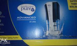 I want to sell my new pureit advance 23lit water