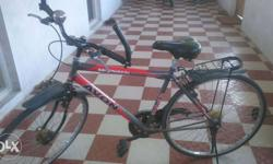 Iam cycle his good condition and four months ago ricing