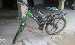 Iam selling my hero D.T.B bicycle with 6 gears and in