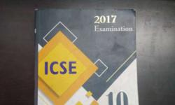 Book for 2016 icse board exam past papers consisting of