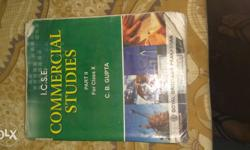 Icse commercial studies c.b. gupta