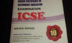 Icse past 10 years solved papers 2016 Evergreen