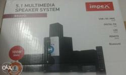 impex 5.1 homethereater system[Bravo].Remote