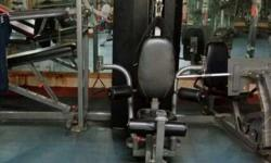 imported commercial multi gym.lat pulldown,pecfly,