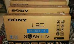Imported new sealed pack led tv with 1 year warrenty