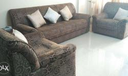 Dubai imported sofa. sparingly used in last 5 years.