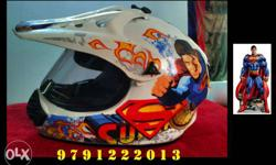 Imported Sturdy Super Man Helmet