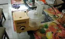 Food processor - two