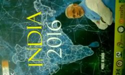 India year 2016 book new condition