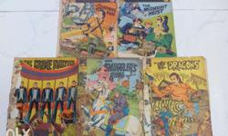 Indrajal Comics - 5 in one lot. Comics priced at