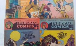 Indrajal Comics - 14 in one lot. Comics priced at