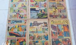 Indrajal Comics - 23 in one lot. 18 cover-less comics