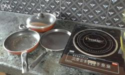 Induction wid 3 pcs of induction cook set
