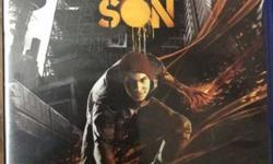 Infamous second son in mint condition playstation 4