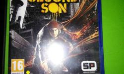 InFamous Second Son PS4 Game Case