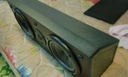 infinity center speaker 6 kg weight 150 Watts 8 ohms