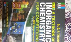 I am giving away Dr.O.P.Tandons Inorganic Chemistry for