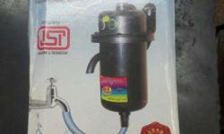 New Portable geyser with one year warranty. Useful for