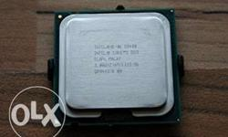 Intel core 2 duo E8400 processor at low price 8 months
