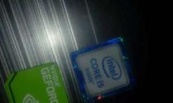 Intel Core I5 And Nvidia Geforece Stickers