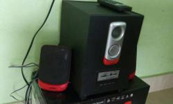 Intex speaker 170 SUF BT with remote, consists of