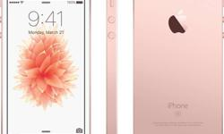 iPhone se 32gb rosegold color 2 months old only