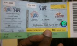 all ipl ticket matches available.. csk vs mumbai match