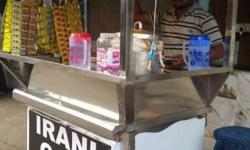 Irani tea point with all set of irani tea with spot