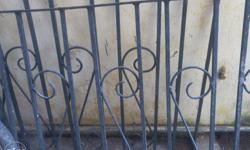 iron bars for Handrils or to make easy dogs cages in